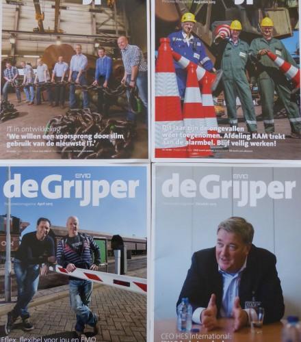 Personeelsblad De Grijper, EMO Rotterdam