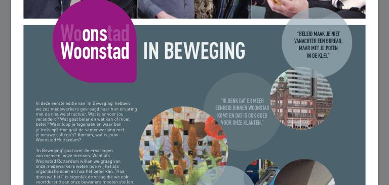 Intern magazine Woonstad Rotterdam