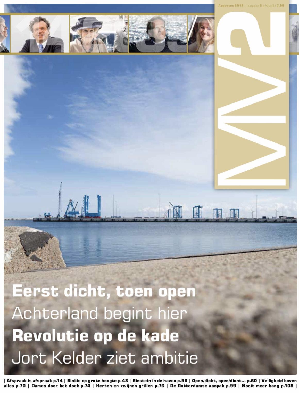 Magazine MV2 voor Havenbedrijf Rotterdam