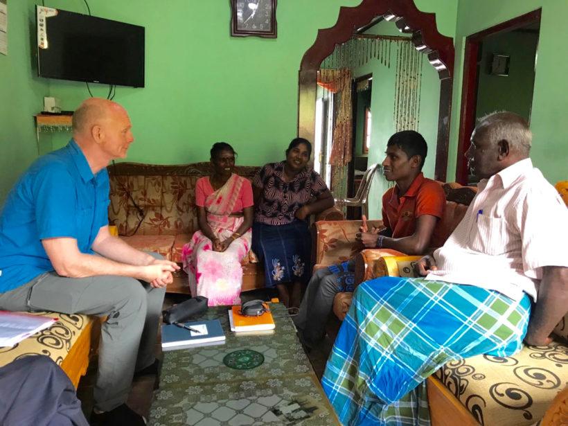 Interviewlessen en storytelling in Sri Lanka