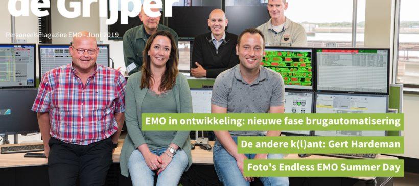 EMO, personeelsmagazine De Grijper