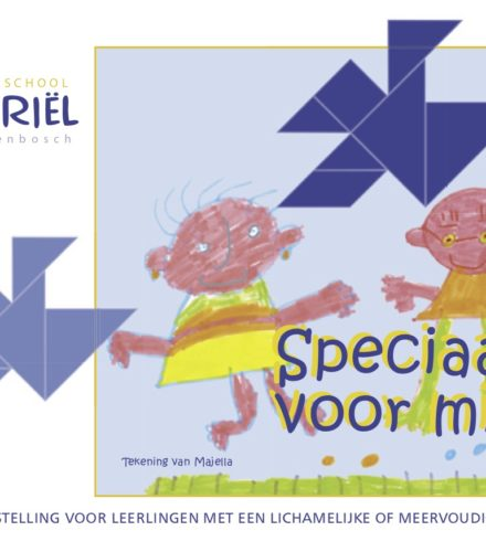 Mytylschool Gabriël: concept en copy kleurrijk beleidsplan voor en door kinderen.